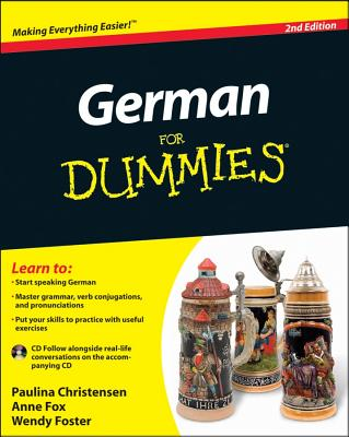 German for Dummies By Christensen, Paulina/ Fox, Anne/ Foster, Wendy